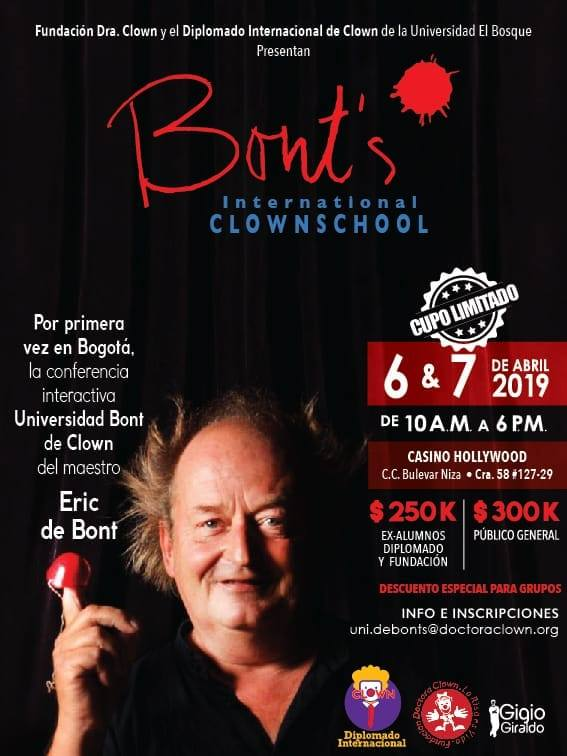 Bont's International Clown School. Marc Muñoz i Paniello